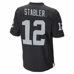 Oakland Raiders Youth Ken Stabler Limited Black Jersey