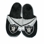 Oakland Raiders Youth Logo Slipper