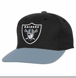 Oakland Raiders Youth Main Snapback Cap