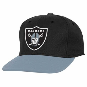 Oakland Raiders Youth Main Snapback Cap - Click to enlarge