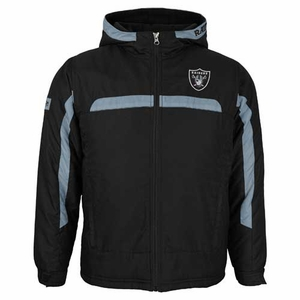 Oakland Raiders Youth Midweight Jacket - Click to enlarge
