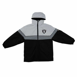 Oakland Raiders Youth Midweight Parka - Click to enlarge