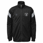 Oakland Raiders Youth Precision Track Jacket