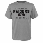 Oakland Raiders Youth Property Of Tee