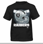 Oakland Raiders Youth Reflection Tee