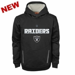 Oakland Raiders Youth Shadow Pullover