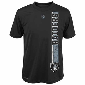 Oakland Raiders Youth Shatter Mark Tee - Click to enlarge