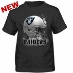 Oakland Raiders Youth Smash Mouth Tee