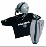 Oakland Raiders Youth Uniform Set