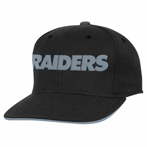 Oakland Raiders Youth Visor Snapback Cap - Click to enlarge