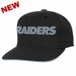 Oakland Raiders Youth Visor Snapback Cap