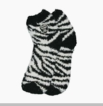 Oakland Raiders Zebra Stripe Sock