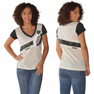 Oakland Raiders Zone Coverage Tee - Click to enlarge