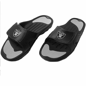 Oakland Raiders Zslide Sandal - Click to enlarge