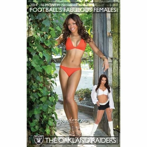 Raiderette 2013-14 Calendar - Click to enlarge