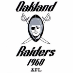 Raiders AFL Logo Static Cling