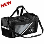 Raiders Border Stripe Duffle Bag