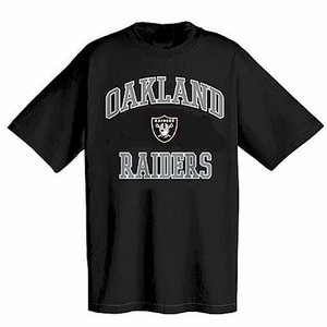 Oakland Raiders Heart & Soul II Black - Click to enlarge