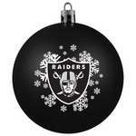 Oakland Raiders Shatter Proof Ornament