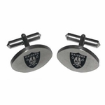 Raiders Titanium Cuff Links