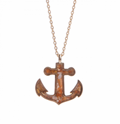 Anchor Necklace - gold plated