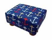 Anchors Away Footstool