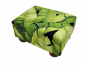 Banana Leaf Footstool
