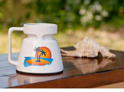 Desert Isle Mugs - Set of 4