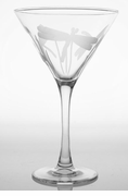Dragonfly Martini Glasses - set of 4