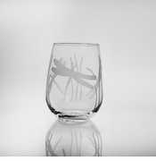 Dragonfly Stemless Wine Tumblers - set of 4