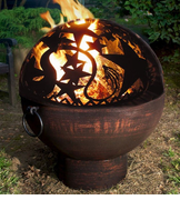 Fire Bowl with Orion FireDome