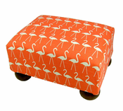 Flamingo Footstool