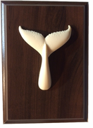 Humpback Whale Tail Plaque