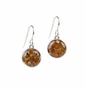 Sand Globe Earrings