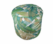 Sea Palm Round Pouf