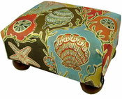 Seashell Footstool