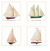 Wooden Boat Coasters