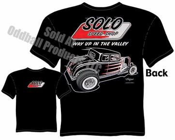 32 Ford Hot Rod Shirt 1932 Ford Coupe Solo Speed Shop T Shirt