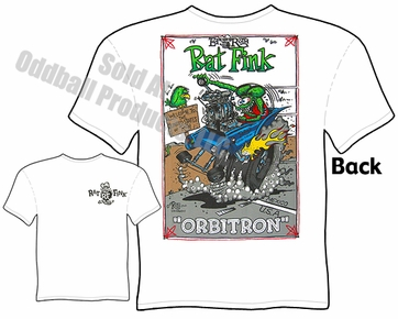 Big Daddy Clothing Company Ed Roth Shirt Orbitron Rat Fink T Shirt