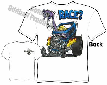 Big Daddy Clothing Ed Roth T Shirts Race? Drag Nut Rat Fink T Shirt