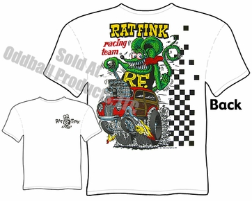 Big Daddy Shirt 40 Ford Woody Wagon Racing Team Rat Fink T Shirt