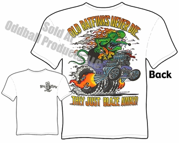 Big Daddy Shirt Model T Old Rat Finks Never Die Rat Fink T Shirt