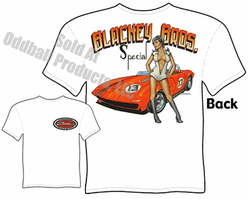 Corvette - Blackey Special, Stingray Roadster T-shirt