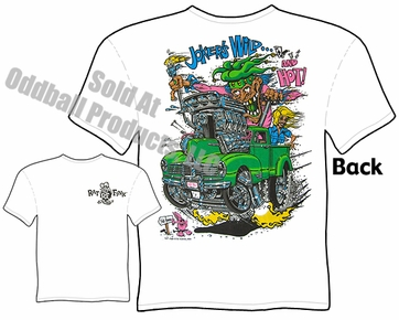 Ed Roth Clothing Big Daddy Shirt Hudson Pickup Jokers Wild Rat Fink T Shirt