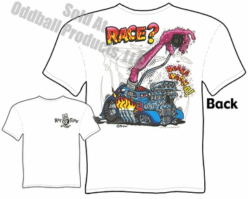 Ed Roth Tshirt Big Daddy Roth T Shirts Race? Rat Fink T Shirt