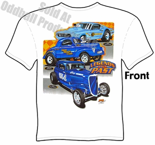 Hot Rod Racing Shirts Legends Of The Past Drag Racing T Shirt