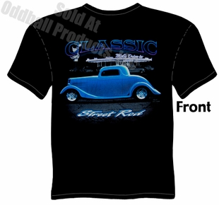 Hot Rods - 1933 1934 Ford Classic Street Rod T-shirt