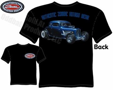 Hot Rods - 33 34 5 Window Coupe, 32 Grill T-shirt