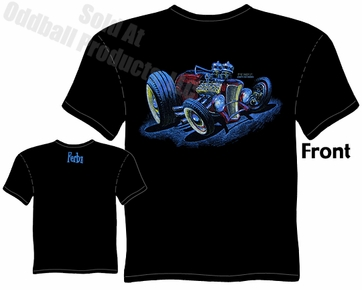 Hot Rods - Ferbz 32 Roadster T-shirt