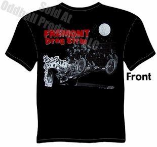 Hot Rods - Fremont Drag Strip T-shirt